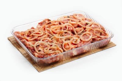 Стейк из свинины по-самаркандски
