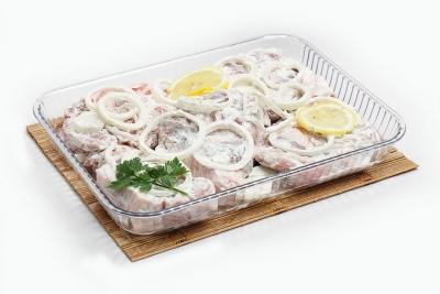 Стейк из свинины в соусе от Пикника