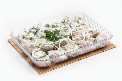 Свинина в соусе от Пикника с зеленью