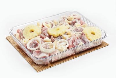 Свинина в йогуртово-чесночном соусе (ананас)