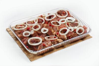 Свинина в красном остром соусе